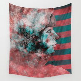 Wonder Into The Future Wall Tapestry