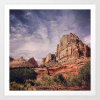 Capitol Reef Naitonal Park Utah Art Print