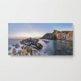 Riomaggiore of Cinque Terre, Cinque Terre, Italy Metal Print