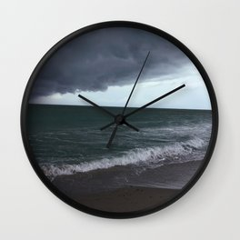 The Edge of the Weather Wall Clock