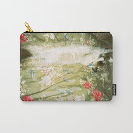Issey on the bed Carry-All Pouch