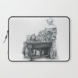 In which a cosmonaut is rendered quizzical Laptop Sleeve