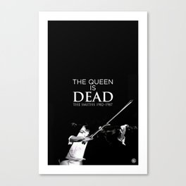 The Queen Is Dead Canvas Print