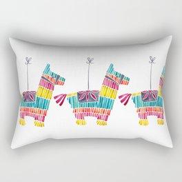 Mexican Donkey Piñata – CMYK Palette Rectangular Pillow