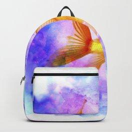Watercolor Goldfish Backpack