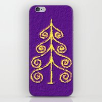 christmas tree iPhone & iPod Skins featuring Christmas Tree* by Mr and Mrs Quirynen