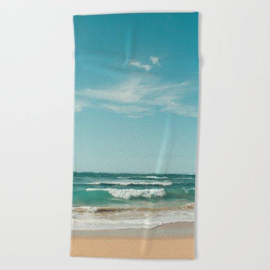 The Ocean of Joy Beach Towel