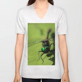 Bug eyed Unisex V-Neck