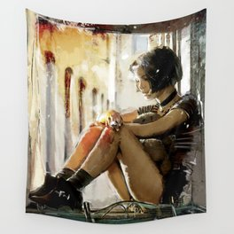 Mathilda - Leon the Professional Wall Tapestry