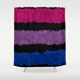 bi pride Shower Curtain
