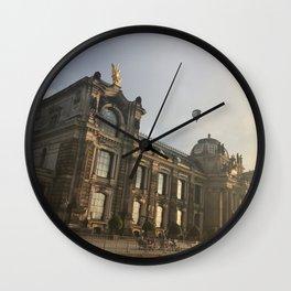 Dresden I Wall Clock