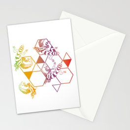 salamander - color Stationery Cards