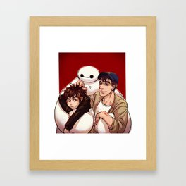 Big Hero 6  Framed Art Print