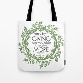 Giving Tote Bag