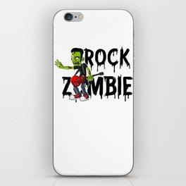 Zombie Guitar Undead Halloween Music for Rock Fans Light iPhone Skin