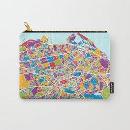 Edinburgh Street Map Carry-All Pouch