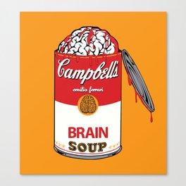 Brain Soup Canvas Print