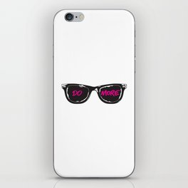 DO MORE iPhone Skin
