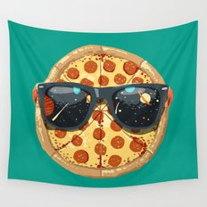 Cool Pizza Wall Tapestry