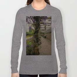 Wisteria Vines Long Sleeve T-shirt