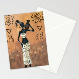 African white Stationery Cards