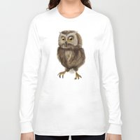 hedwig Long Sleeve T-shirts featuring My Hedwig by Mathis Designs