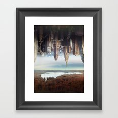 Seperation of state Framed Art Print
