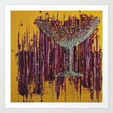 :: Afternoon Wine :: Art Print