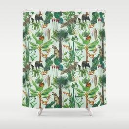 Dream jungle Shower Curtain