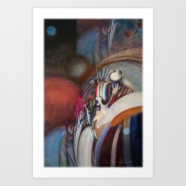 Zero Point Field VII Art Print