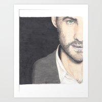 OUAT Colin O'Donoghue Art Print