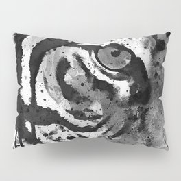 Black And White Half Faced Tiger Pillow Sham