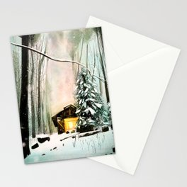 Snowed In Stationery Cards