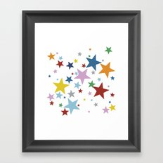 Stars Multi Framed Art Print