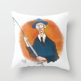 William Burroughs Throw Pillow