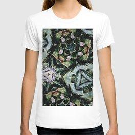 Succulents On Show No 2 T-shirt