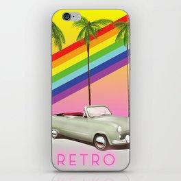 Retro Old Classic Car art iPhone Skin