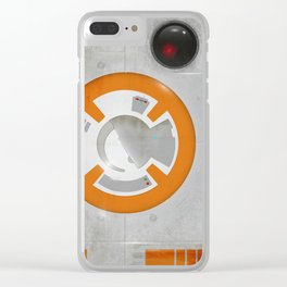 BB8 Texture Clear iPhone Case