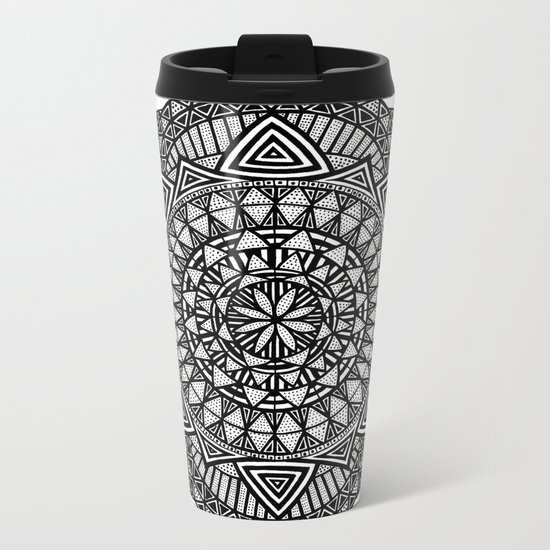 We were gifted with thought (or cursed) Metal Travel Mug