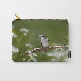 Meadow Hummingbird Art Carry-All Pouch