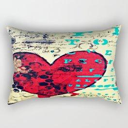 Mixed media art by Croppin' Spree Rectangular Pillow