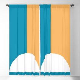 Multicolor Cap Blackout Curtain