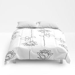 Thorns Comforters