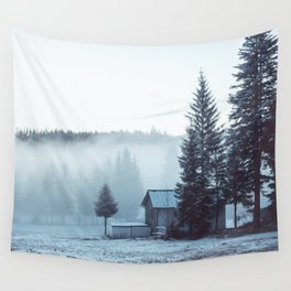 Foggy Memories Wall Tapestry