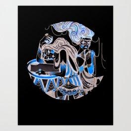 Harlequin Series 4 Art Print
