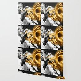 Louis Armstrong Trumpet Music Musician Jazz Wallpaper