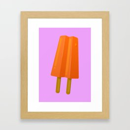 Popsicle dreaming Framed Art Print