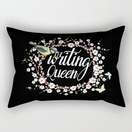 Writing Queen Rectangular Pillow
