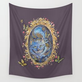 Cheshire cat ALICE IN WONDERLAND Wall Tapestry