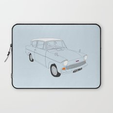 Weasley's Flying Ford Anglia Laptop Sleeve
